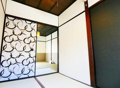 【寝室】東浅香山町テラスハウス