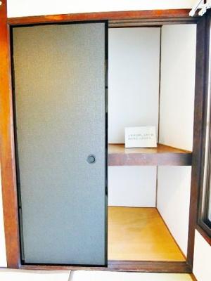【収納】東浅香山町テラスハウス
