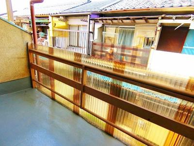 【バルコニー】東浅香山町テラスハウス