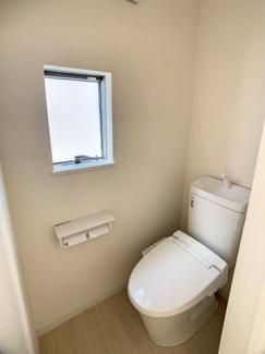 【トイレ】沼津市下香貫6期 新築戸建 全1棟 (1号棟)