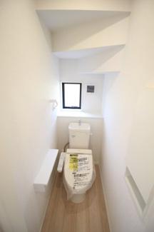 【トイレ】富士市天間第9 新築戸建 全2棟 (1号棟)