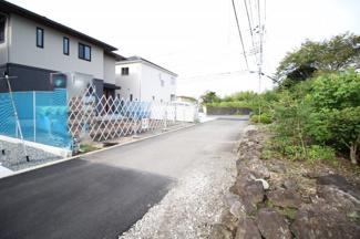 【前面道路含む現地写真】富士市三ツ沢第5 新築戸建 全2棟 (2号棟)