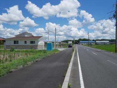 【前面道路含む現地写真】勝北町 原 新築3LDK 平家住宅