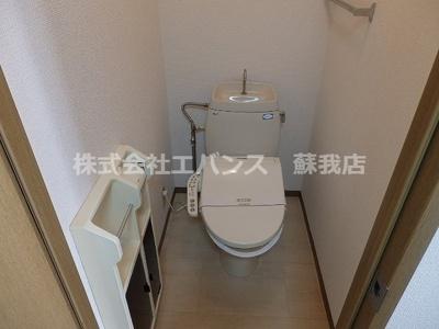 【トイレ】ジャックパレス Ⅴ