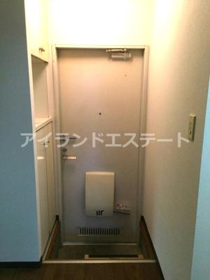 【玄関】アリエス駒沢 礼金0 2人入居可能 駅近 ネット無料 ルームシェア相談可