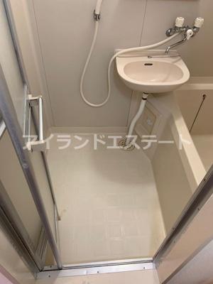 【洗面所】アリエス駒沢 礼金0 2人入居可能 駅近 ネット無料 ルームシェア相談可