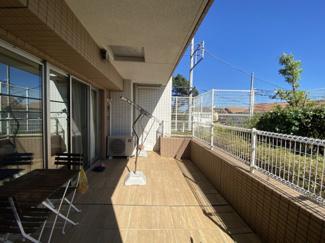 【バルコニー】ザ・パークハウス茅ヶ崎本村 駅近マンション!角部屋です。