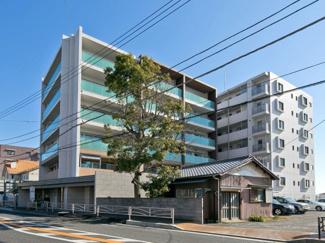 【外観】ザ・パークハウス茅ヶ崎本村 駅近マンション!角部屋です。