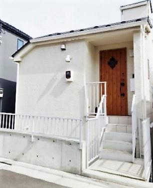 【外観】新宿区下落合4丁目 築浅未入居戸建  6480万円