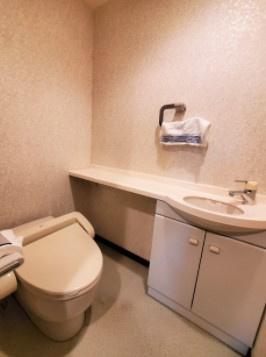 インペリアル表参道のトイレです。