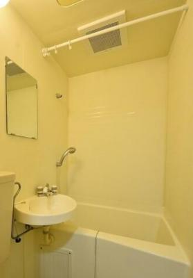 【浴室】フローラル千歳台