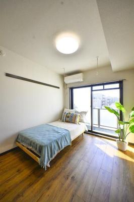 【寝室】フローラル千歳台