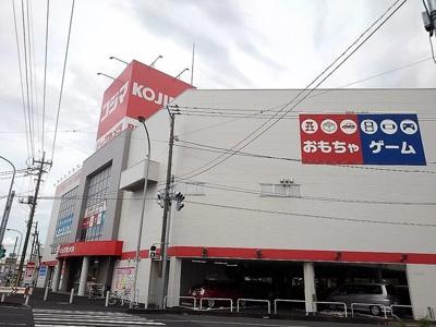 コジマ×ビックカメラ越谷店まで400m