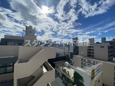 【展望】ビガーポリス417天満橋Ⅱ