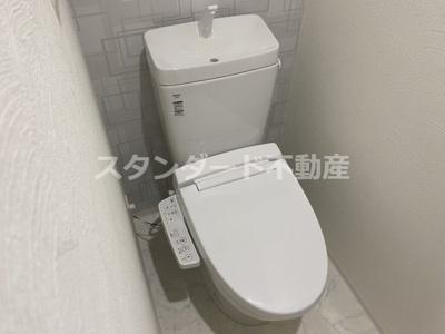 【トイレ】ビガーポリス417天満橋Ⅱ
