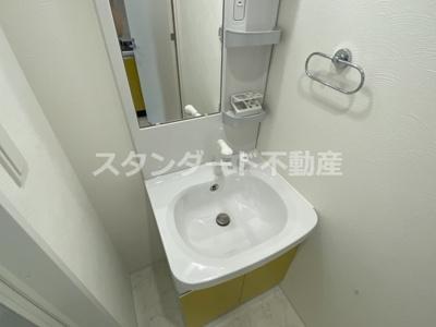【洗面所】ビガーポリス417天満橋Ⅱ