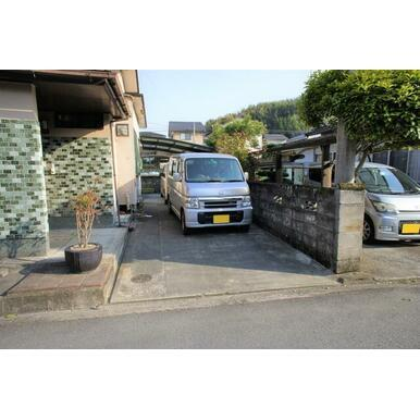 【駐車場】高瀬銭渕町中古住宅