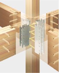 構造施工例:全ての柱は4寸(12センチ×12センチ)を採用