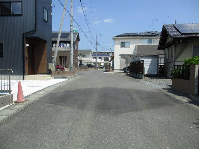 【前面道路含む現地写真】河和田2丁目新築戸建