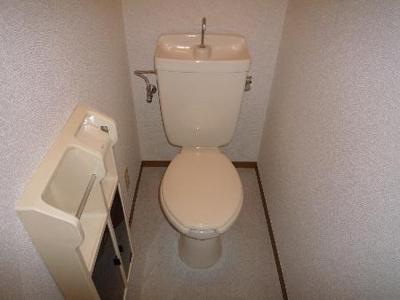 【トイレ】ガーデンヒルズ神大寺