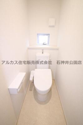 【トイレ】練馬区富士見台1丁目 新築一戸建 西武池袋線 富士見台