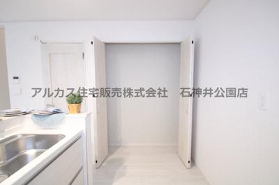 【収納】練馬区富士見台1丁目 新築一戸建 西武池袋線 富士見台
