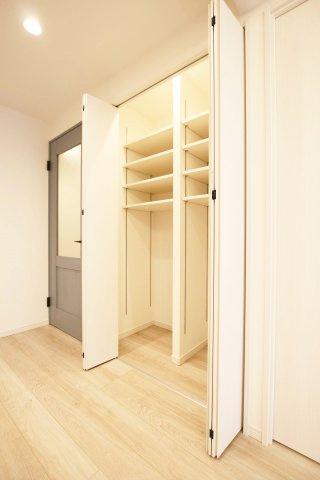 便利なリビング収納でお部屋がすっきりと片付きます