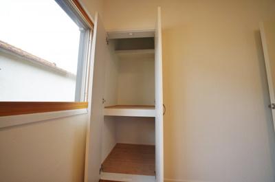 全居室収納付きで、お部屋もスッキリ片付きます。