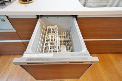 食洗機機能のついたキッチンです。