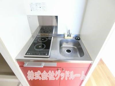 【キッチン】レオパレスDEEPFOREST