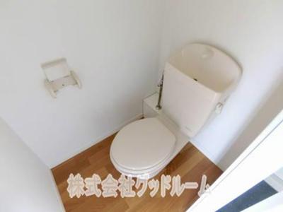 【トイレ】レオパレスDEEPFOREST