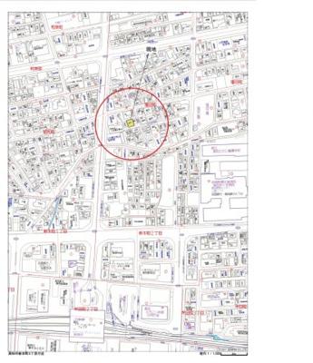 【地図】高知市塩田町