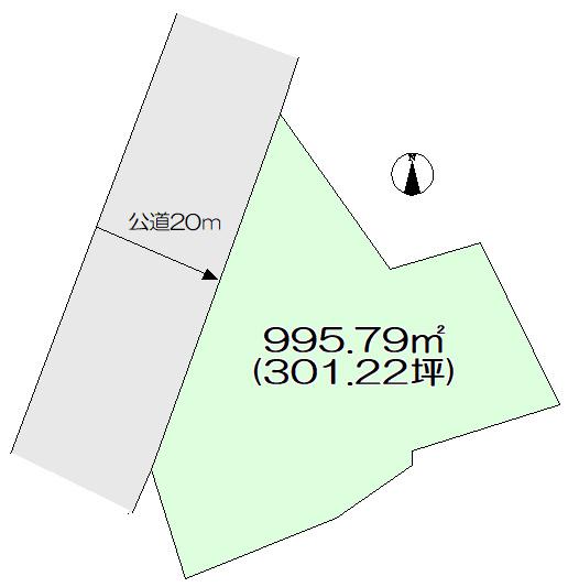 土地広々317.32坪、大きなお住まいを建てたい方におすすめです。