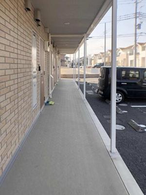 【玄関】総社町総社 群馬総社駅 2階 1LDK