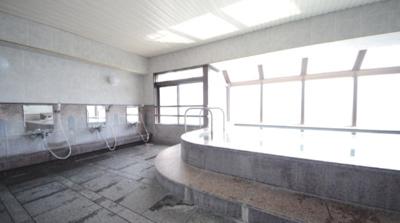 最上階(10階)の展望大浴場(女性用)