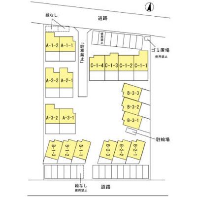 【区画図】ガーデンタウン松島
