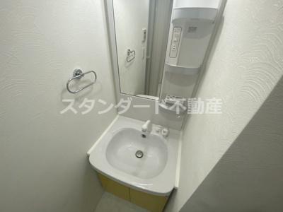 【洗面所】ビガーポリス415松ヶ枝町Ⅲ