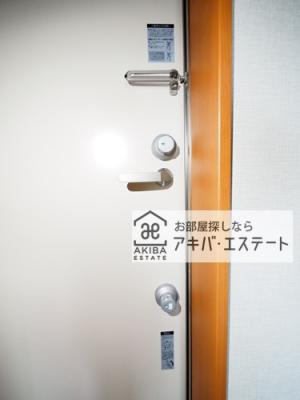 【セキュリティ】角屋パークハイツ