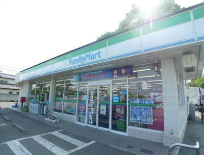 ファミリーマート伊勢崎山王店まで850m
