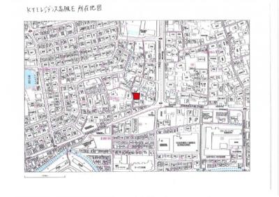【地図】KTIレジデンス高槻E