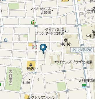 【地図】カーサデアミーゴ