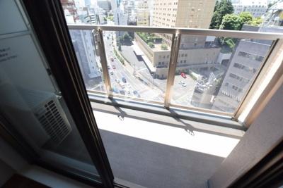【バルコニー】パークハビオ飯田橋