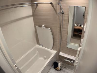 浴室は乾燥機付き