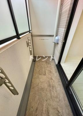 【バルコニー】ディップス高田馬場駅前【DIPS高田馬場駅前】