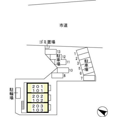 【区画図】パルテールシノヤマ