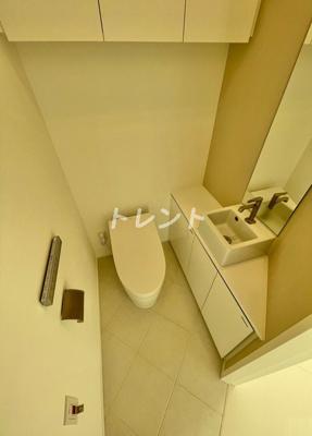 【トイレ】パークコート渋谷ザタワー