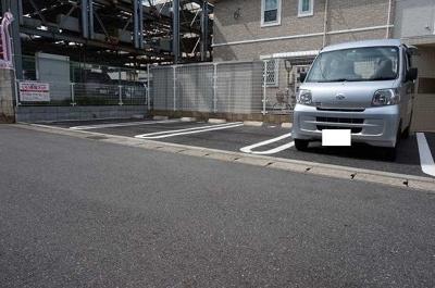 【駐車場】アルファ