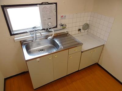 【キッチン】ハイツ山川
