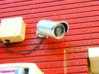 防犯カメラでセキュリティもしっかりしてます!