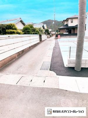 【前面道路含む現地写真】西脇市小坂町 1号棟 ~新築一戸建~
